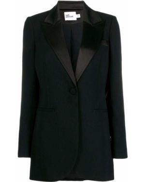Черный пиджак Self-portrait