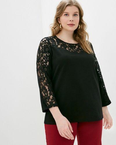 Черная кружевная блузка Svesta