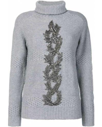 Серый свитер Jo No Fui