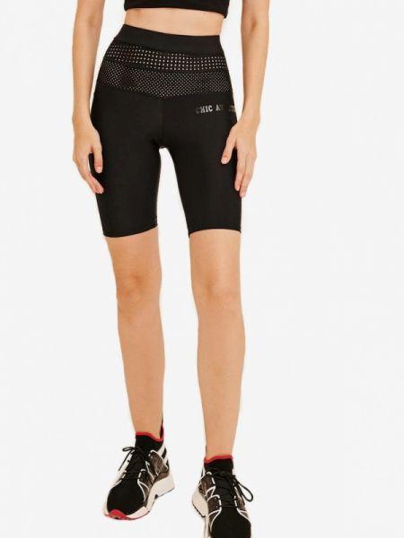 Черные спортивные шорты Jolifashn