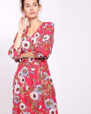 Платье розовое оливковый S.oliver