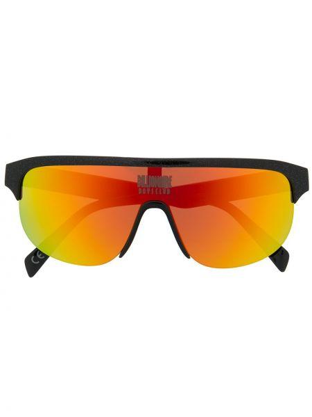 Солнцезащитные очки черные Italia Independent