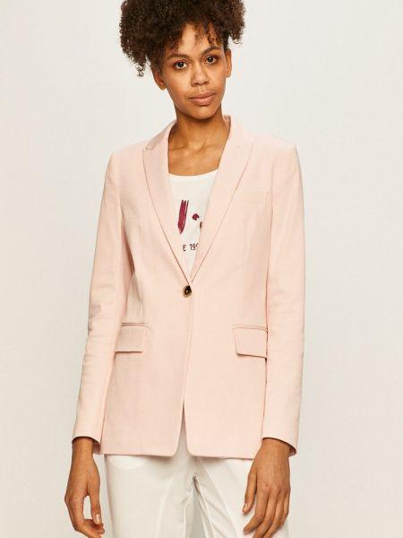 Прямой розовый пиджак с карманами Tommy Hilfiger