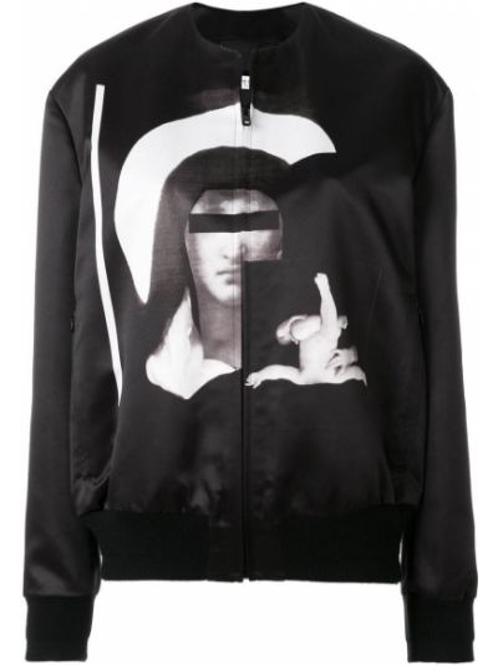 Kurtka bomber - czarna Givenchy