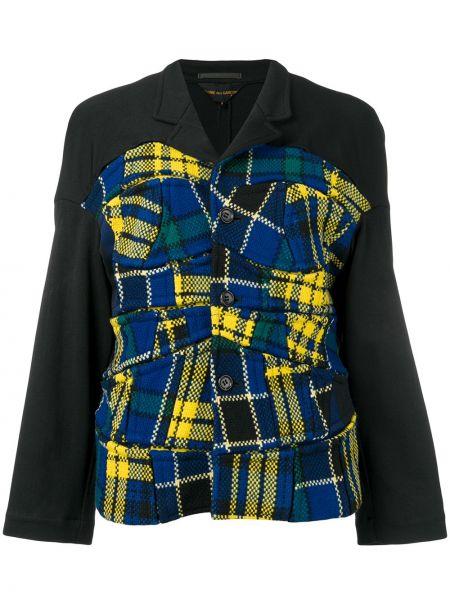 Шерстяная черная куртка винтажная Comme Des Garçons Pre-owned