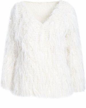 Biały kardigan Multu