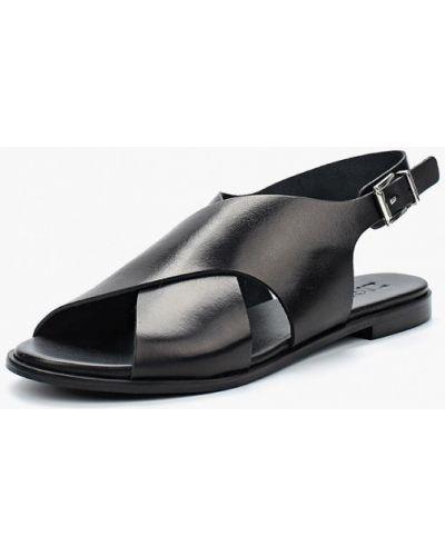 Черные сандалии Zign