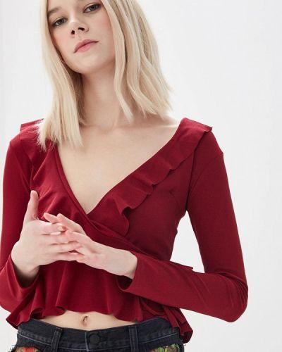 Блузка бордовый красная Edge Street