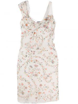 Шелковое платье Christian Dior