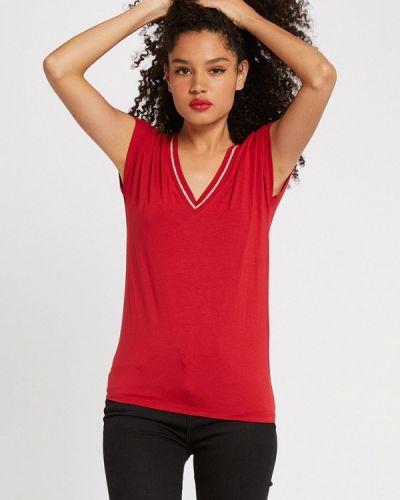 Красная футболка с короткими рукавами Morgan