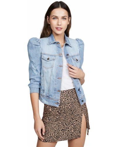 Niebieskie jeansy bawełniane Retrofete