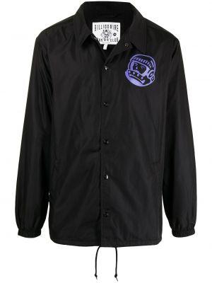Рубашка на кнопках - черная Billionaire Boys Club