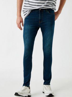 Синие зимние джинсы Koton