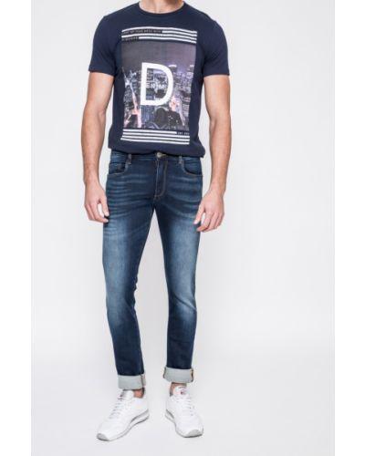 Джинсы-скинни с завышенной талией на пуговицах Trussardi Jeans
