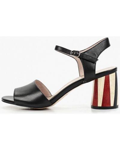 Босоножки на каблуке черный Marie Collet