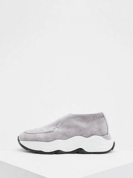 Кроссовки замшевые низкие Nando Muzi