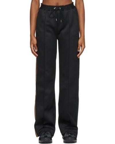 Черный костюм в полоску с вышивкой Adidas X Ivy Park