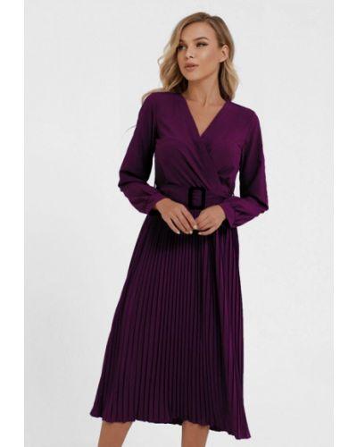 Фиолетовое платье с запахом Magnet