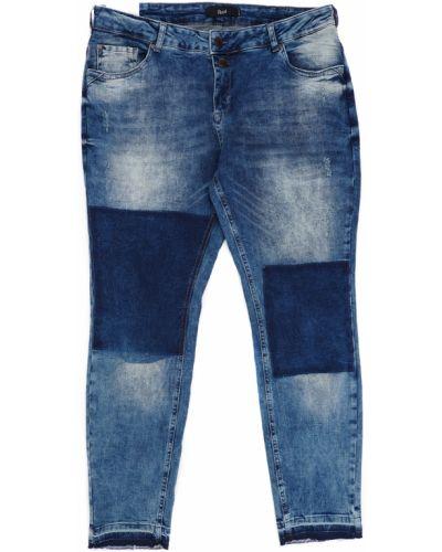 Синие джинсы с карманами Zizzi