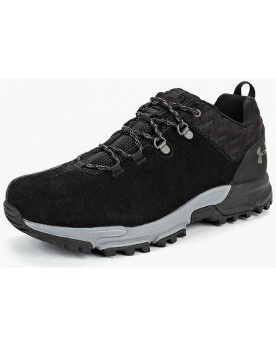 Треккинговые ботинки осенние замшевые Under Armour