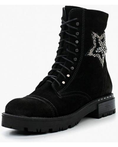 Ботинки осенние черные Ilvi