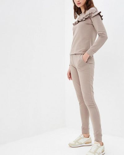 Брючный костюм коричневый польский Numinou
