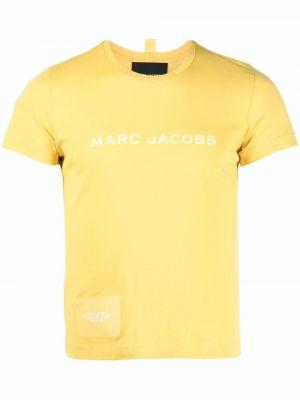 Лонгслив с принтом - желтая Marc Jacobs
