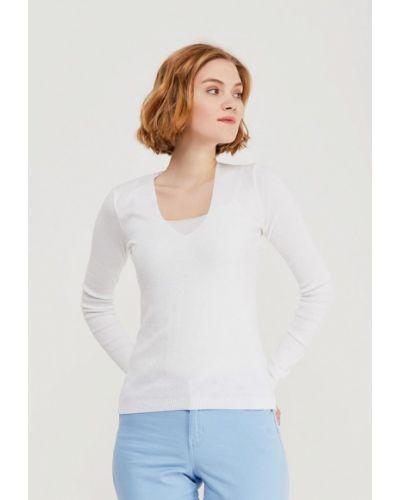 Белый пуловер United Colors Of Benetton