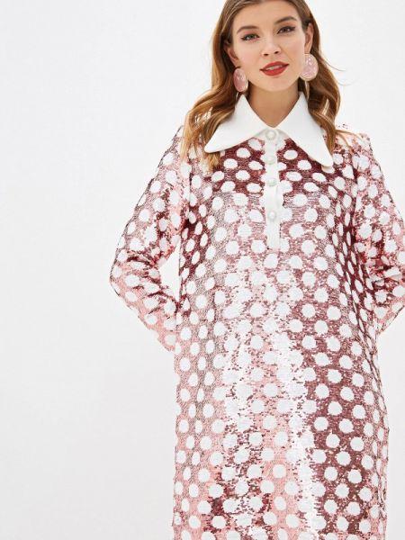Вечернее платье осеннее розовое Sister Jane