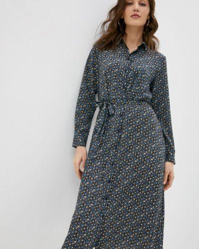 Черное платье-рубашка Jacqueline De Yong