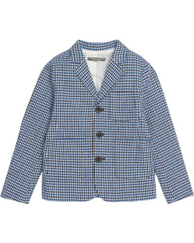 Пиджак синий на пуговицах Bonpoint