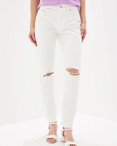 Прямые джинсы белые Polo Ralph Lauren