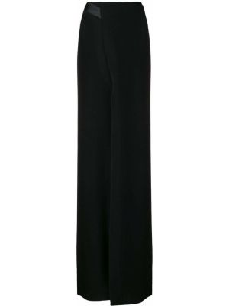 Черная ажурная юбка макси Poiret