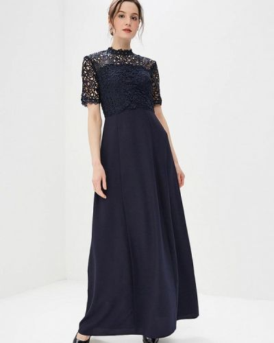 Платье весеннее синее Ad Lib