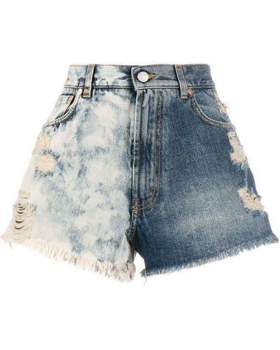 Szorty jeansowe - niebieskie Givenchy