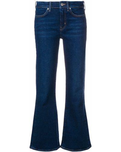 Расклешенные джинсы укороченные mom Mih Jeans