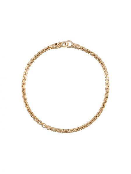 Bransoletka ze złota drewniany złoto Tom Wood