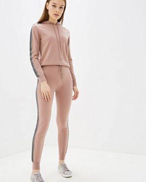 Костюм вязаный розовый Lusio