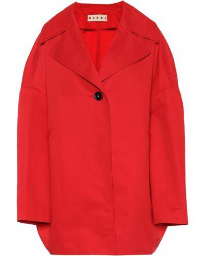 Пальто расклешенное на кнопках Marni