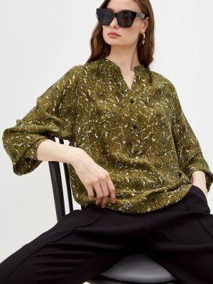 Блузка с длинными рукавами - хаки Windsor