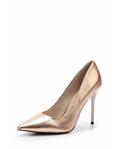 Кожаные туфли на каблуке Ilvi