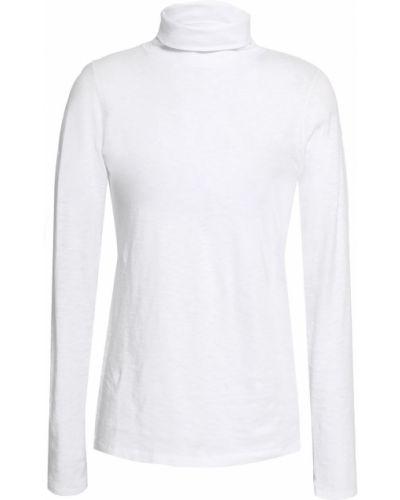 Biały top z długimi rękawami bawełniany Rag & Bone