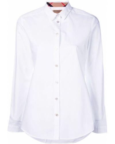 Классическая рубашка с длинным рукавом хлопковая Burberry