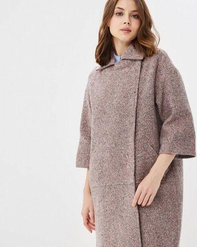 Розовое пальто демисезонное La Reine Blanche