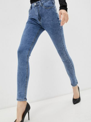 Зауженные джинсы - голубые Vitacci