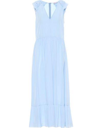 Летнее платье миди шелковое Redvalentino
