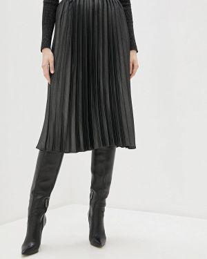 Платье серое плиссированное Sisley