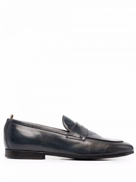 Loafers - niebieskie Officine Creative