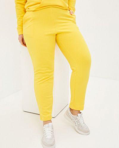 Спортивные брюки - желтые Lina