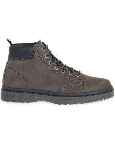 Czarne ankle boots Lumberjack